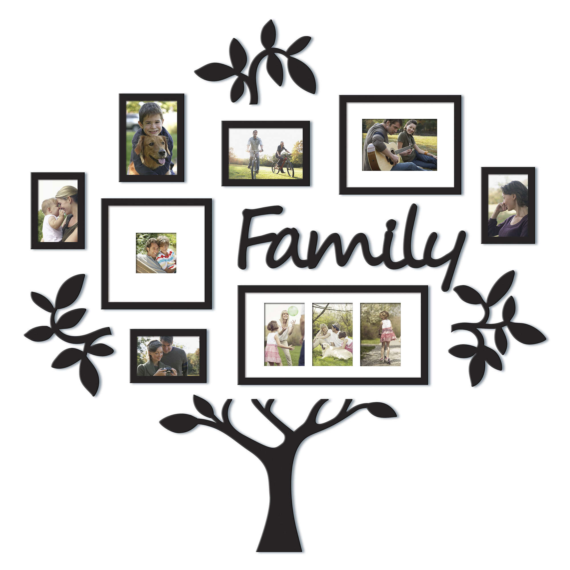 Pics Photos - Family Tree Picture Frame Leaf Trees Home House Art Wall ...