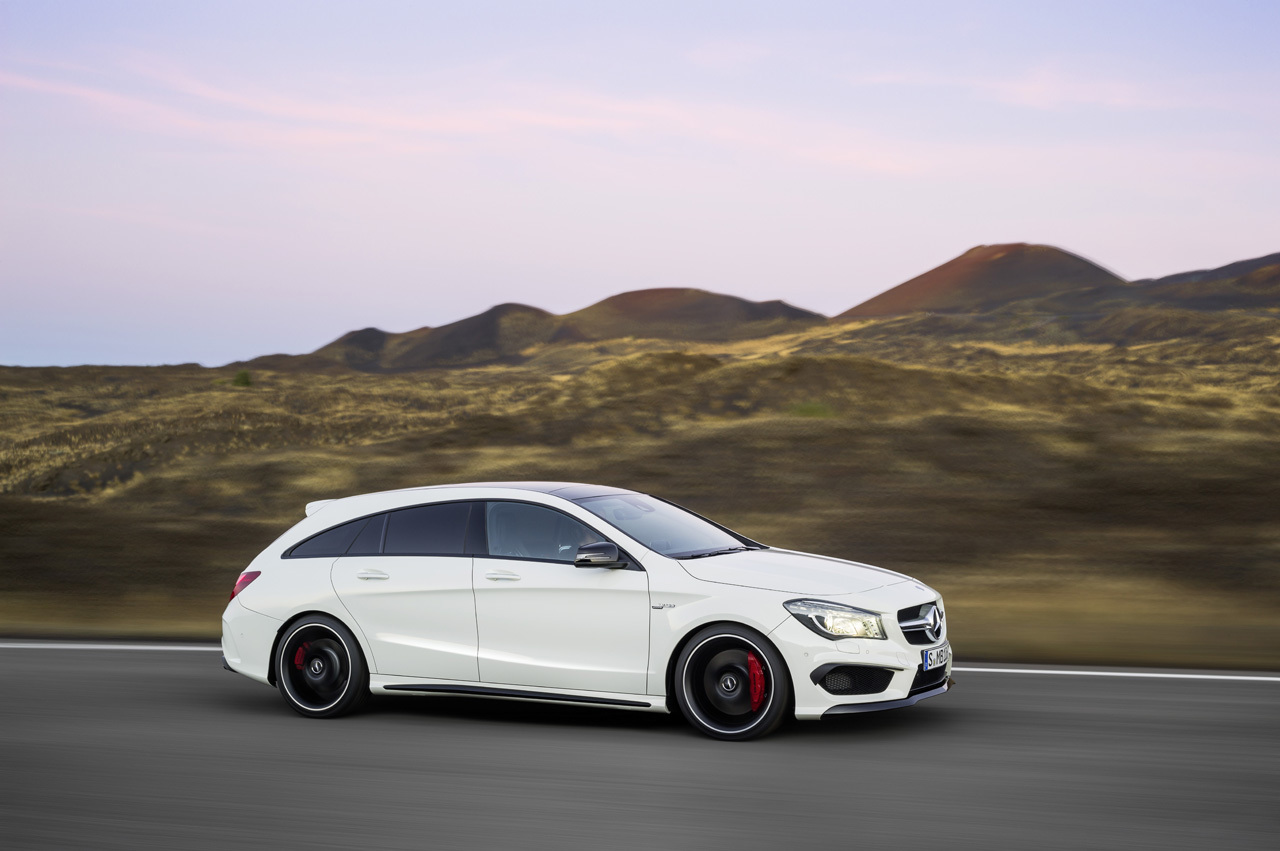 Mercedes Benz Cla45 Amg Shooting Brake Photo Gallery