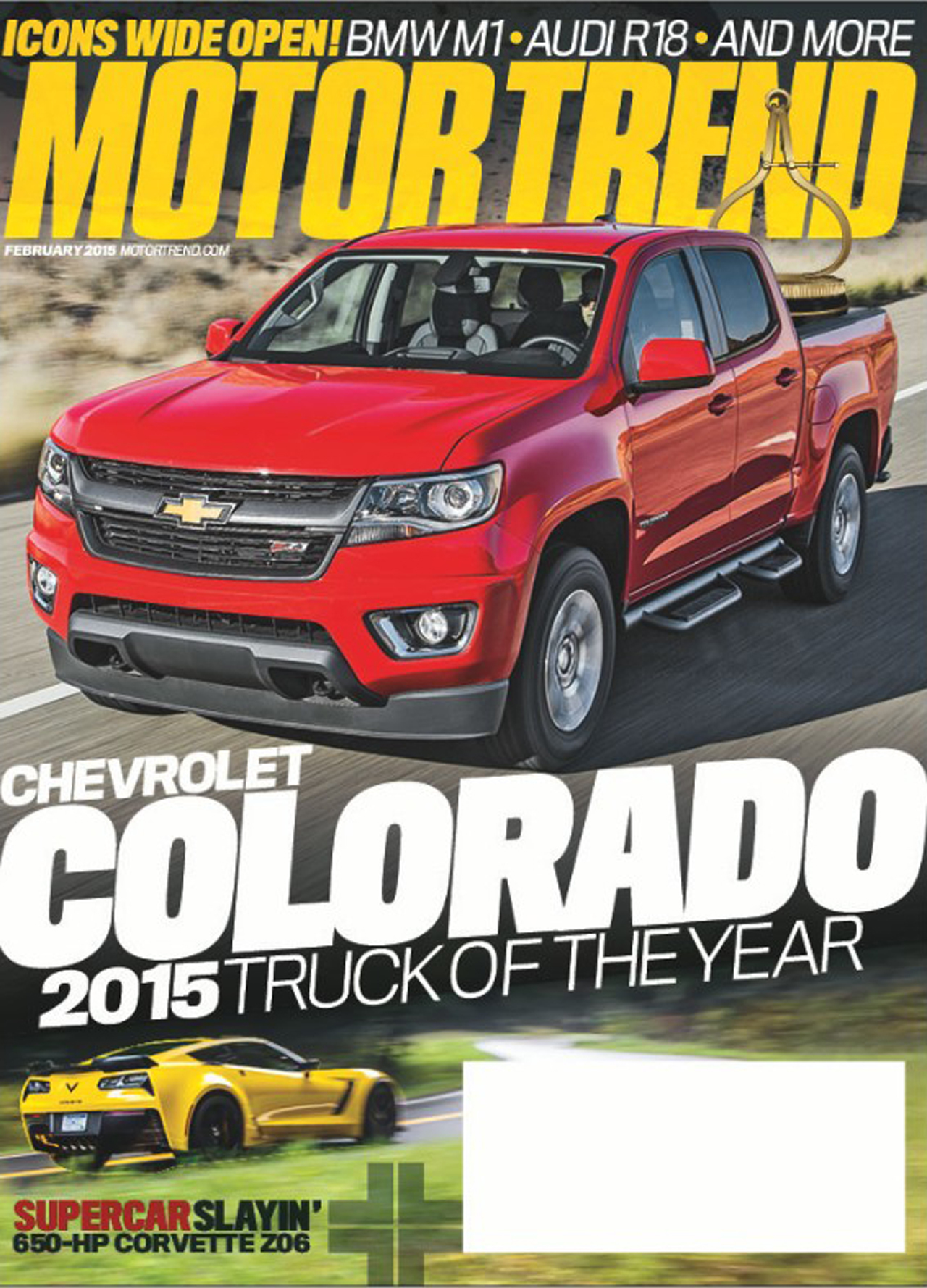 2015 chevrolet colorado motor trend 2015 truck of the year photo gallery autoblog Motor tread
