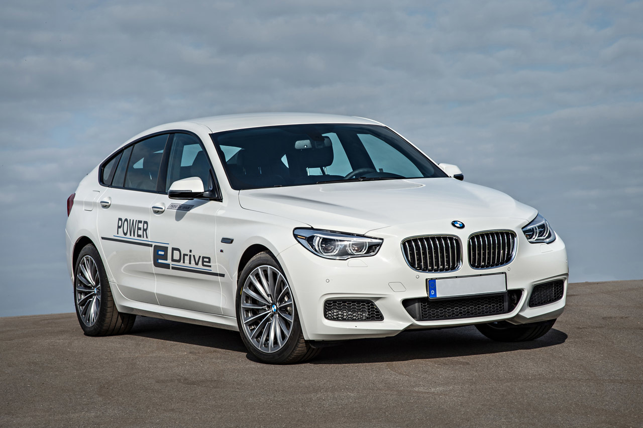 BMW 5 Series GT Plug In Hybrid Photo Gallery