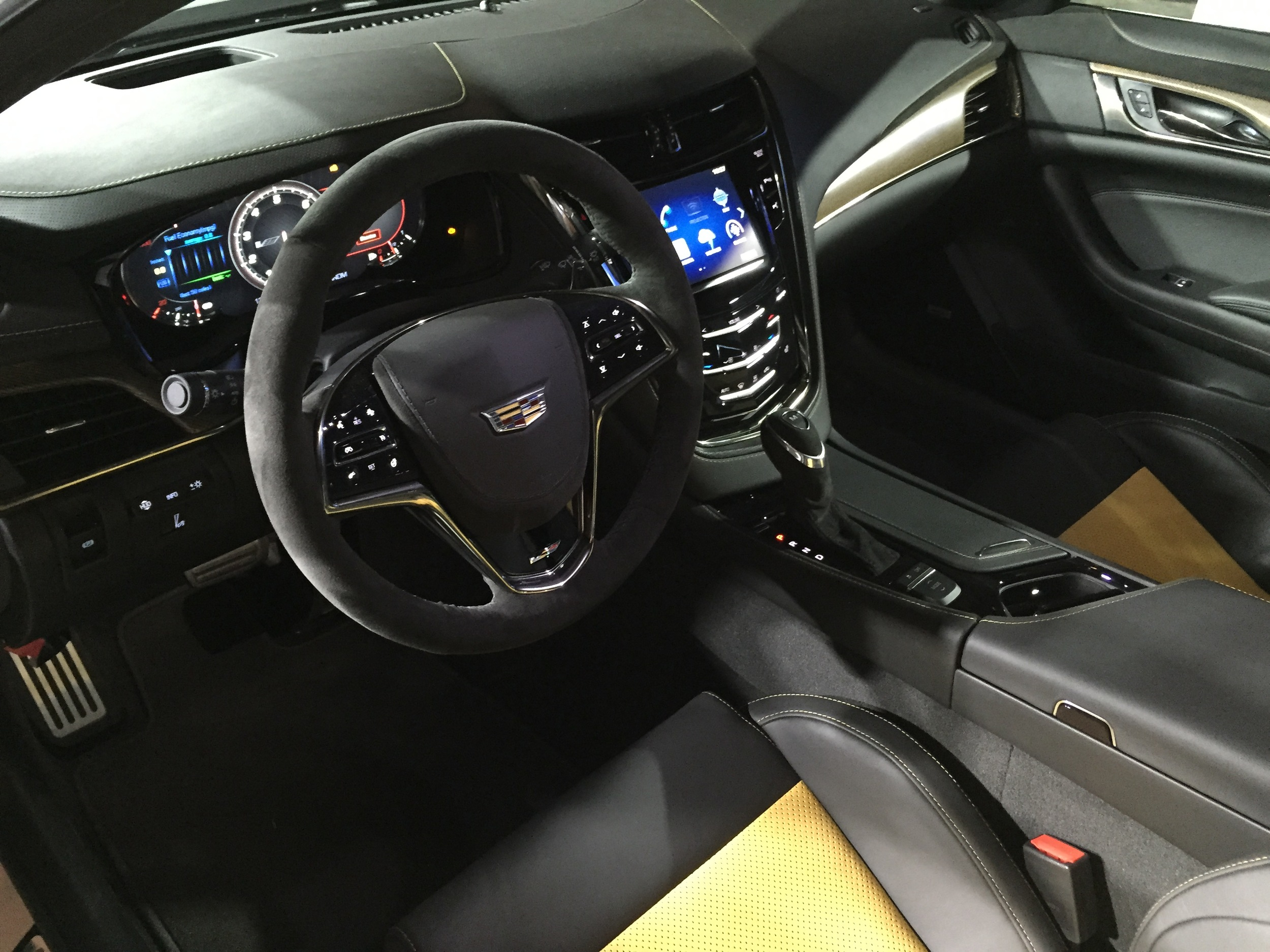 the most powerful cadillac ever the 2016 cts v car. Black Bedroom Furniture Sets. Home Design Ideas