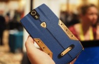 Tonino Lamborghini's 88 Tauri phone is leather, steel... and $6,300