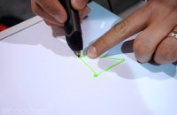 Drawing with the new 3Doodler: less clunky, more kid-friendly