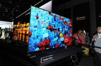 Take a tour of LG's colorful, high-definition CES booth