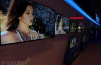 The booth babe is alive and living in Haier's TVs