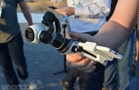 DJI's Inspire 1 hand-held gimbal brings its flying camera down to earth