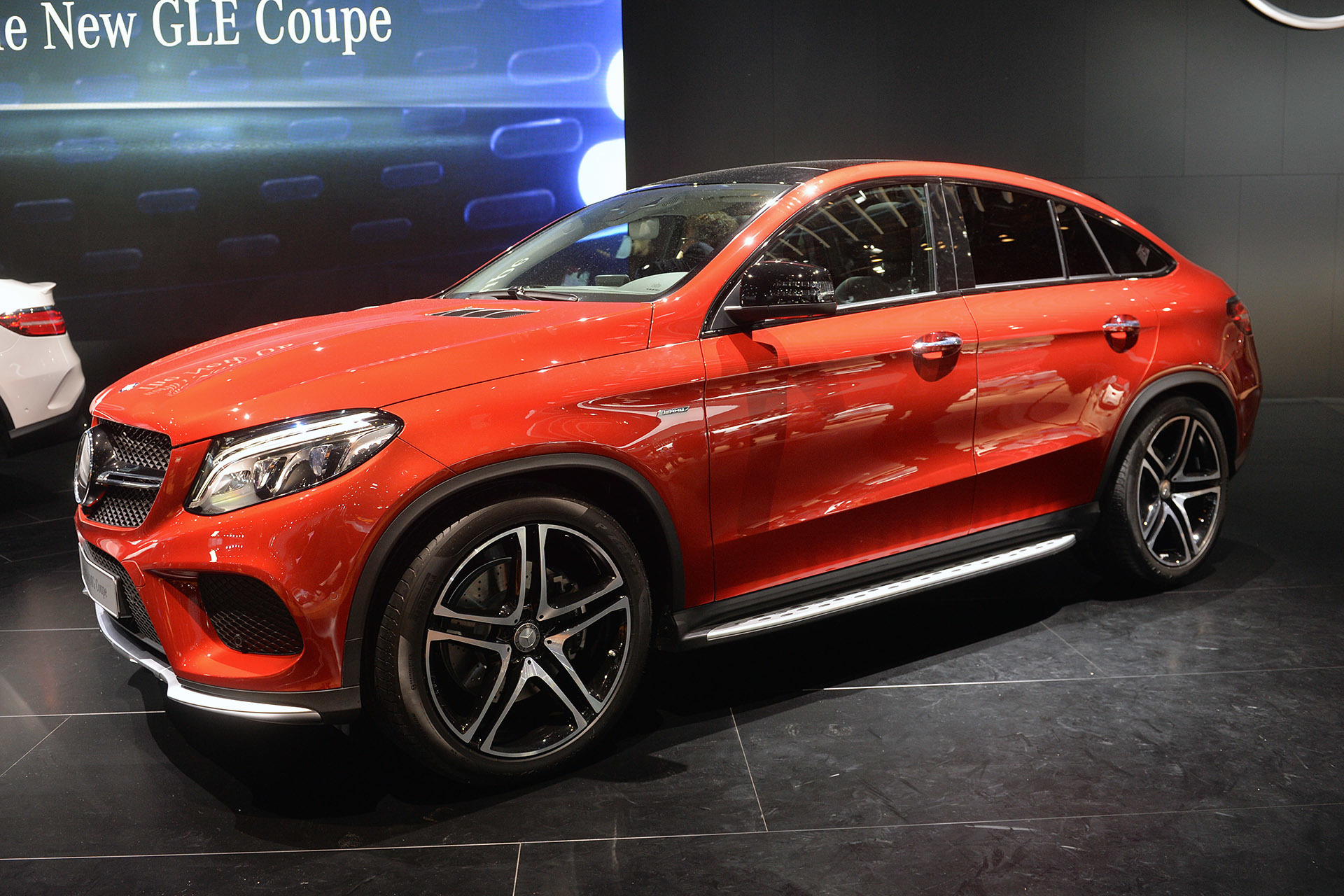 2016 mercedes benz gle450 amg sport coupe detroit 2015 for Used mercedes benz gle 450