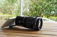 Olympus Air is a lens camera that pairs with your smartphone