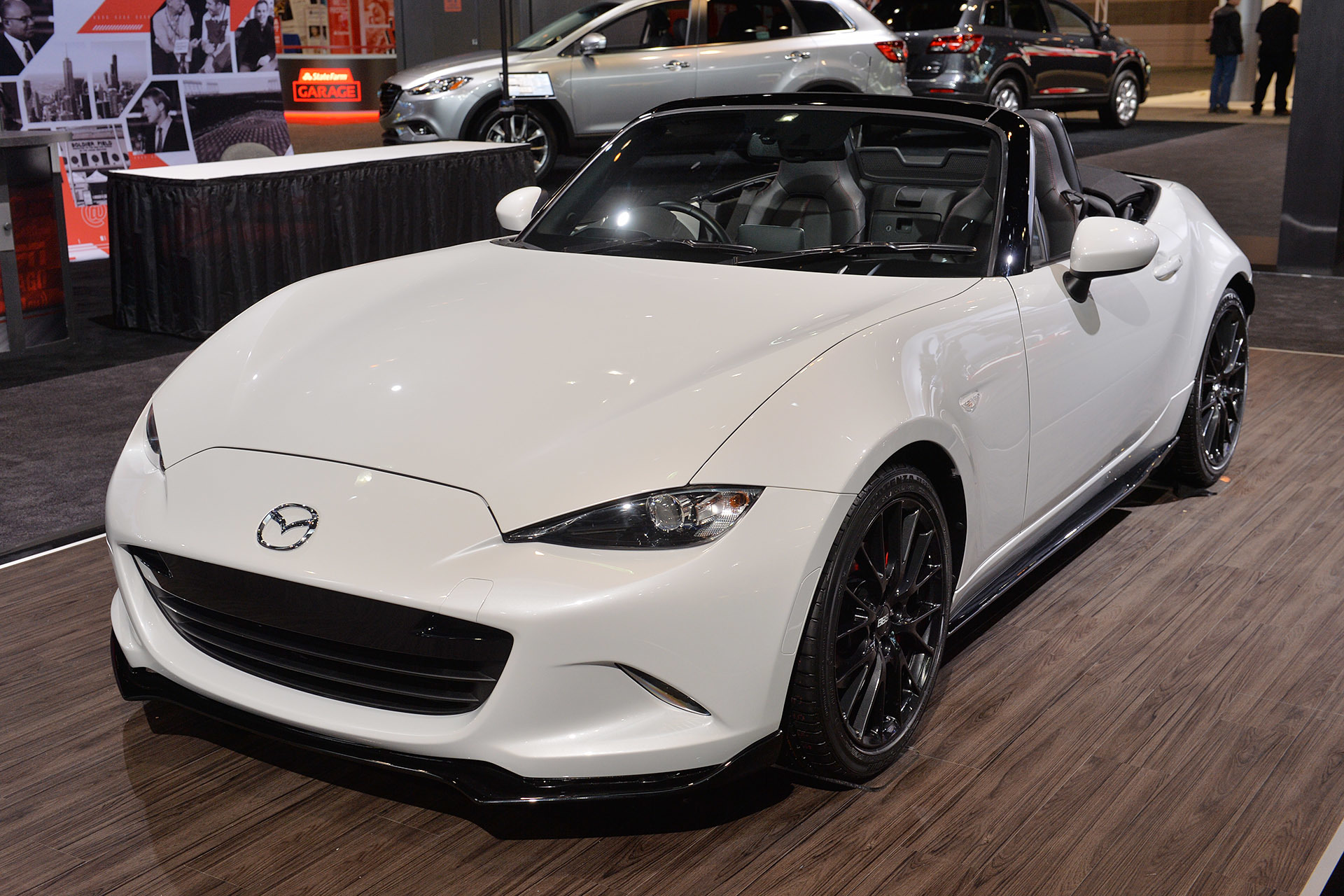 2016 mazda mx 5 miata accessories concept chicago 2015 photo gallery autoblog. Black Bedroom Furniture Sets. Home Design Ideas