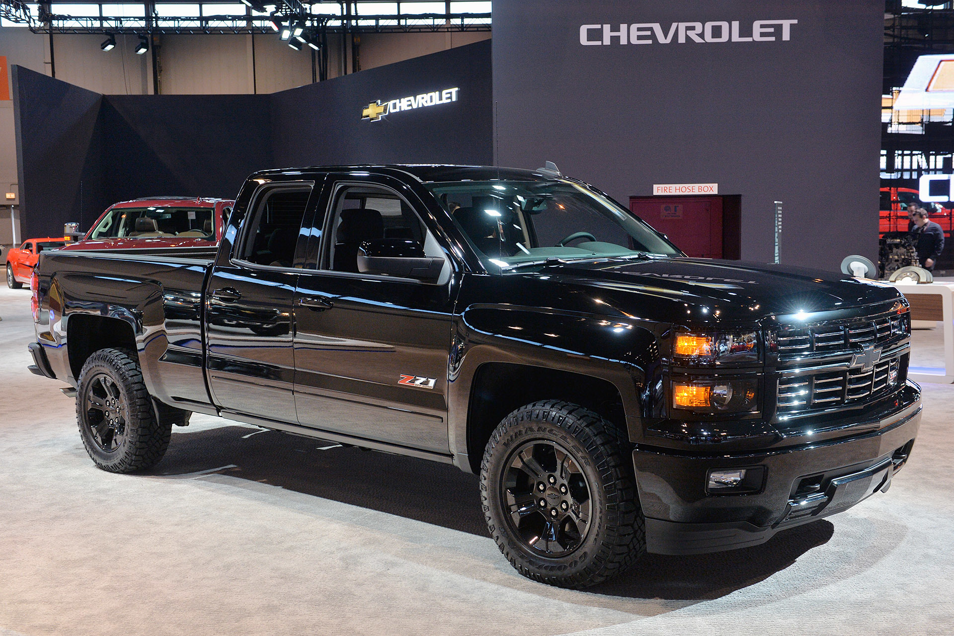 2015 Chevrolet Silverado Midnight Edition: Chicago 2015 Photo Gallery - Autoblog