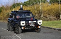 The future of driverless cars is being shaped by a modified Land Rover