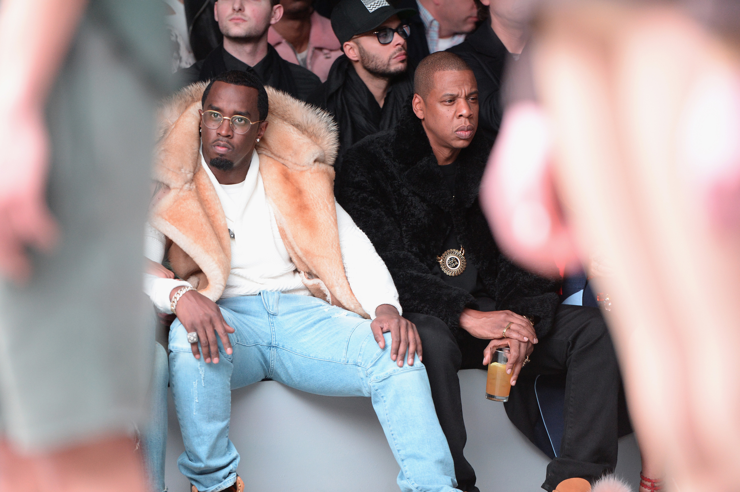 ... adidas Originals x Kanye West YEEZY SEASON 1 collection. 7. Diddy and  Jay Z