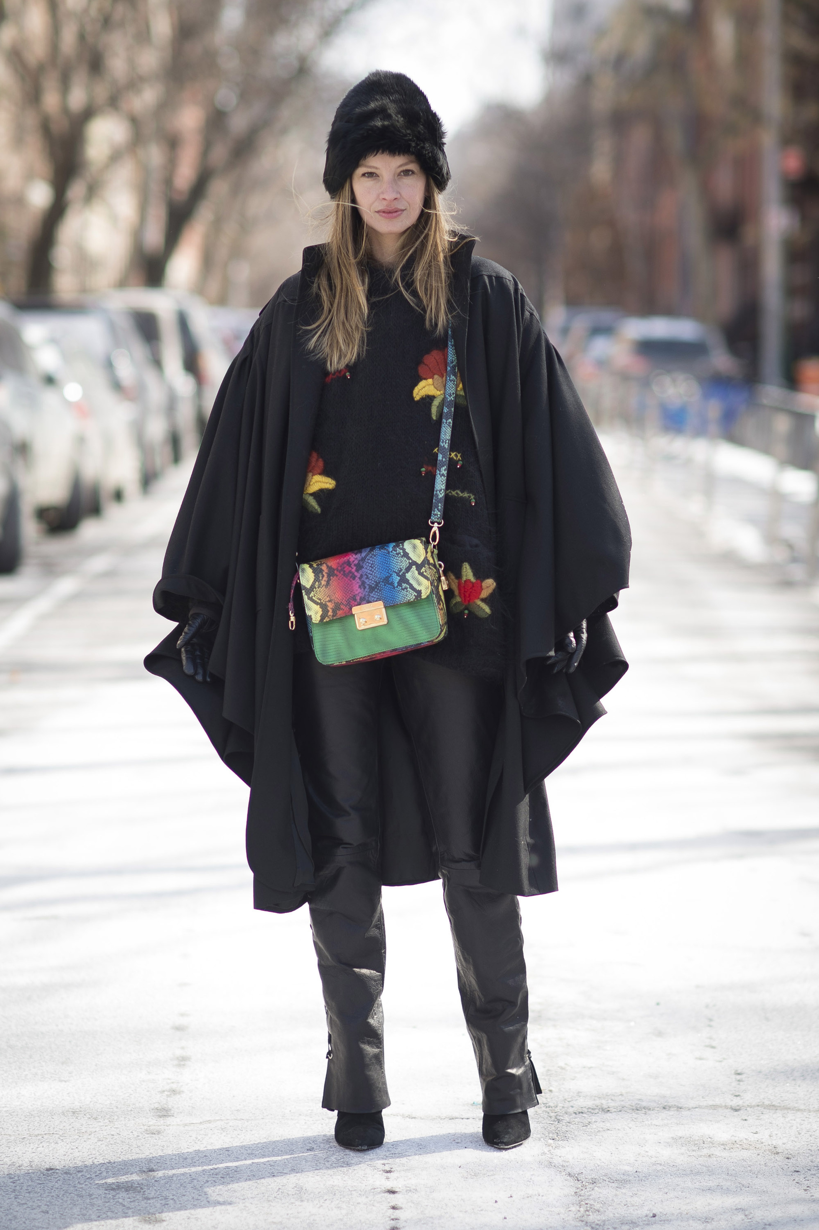 New York Fashion Week Autumn Winter 2015 Street Style