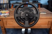 Taking laps with the Thrustmaster T300RS racing wheel