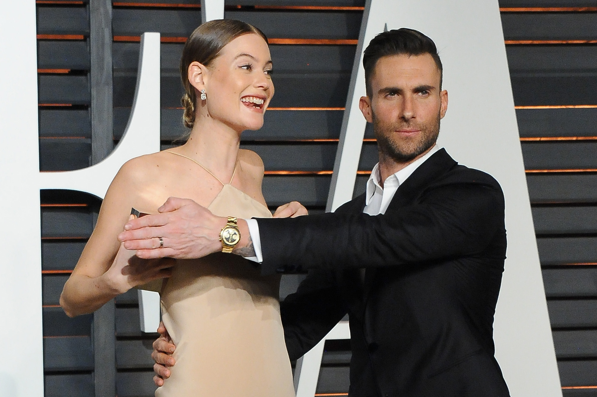 Adam Levine Covered Be... Lily Allen Tattoos
