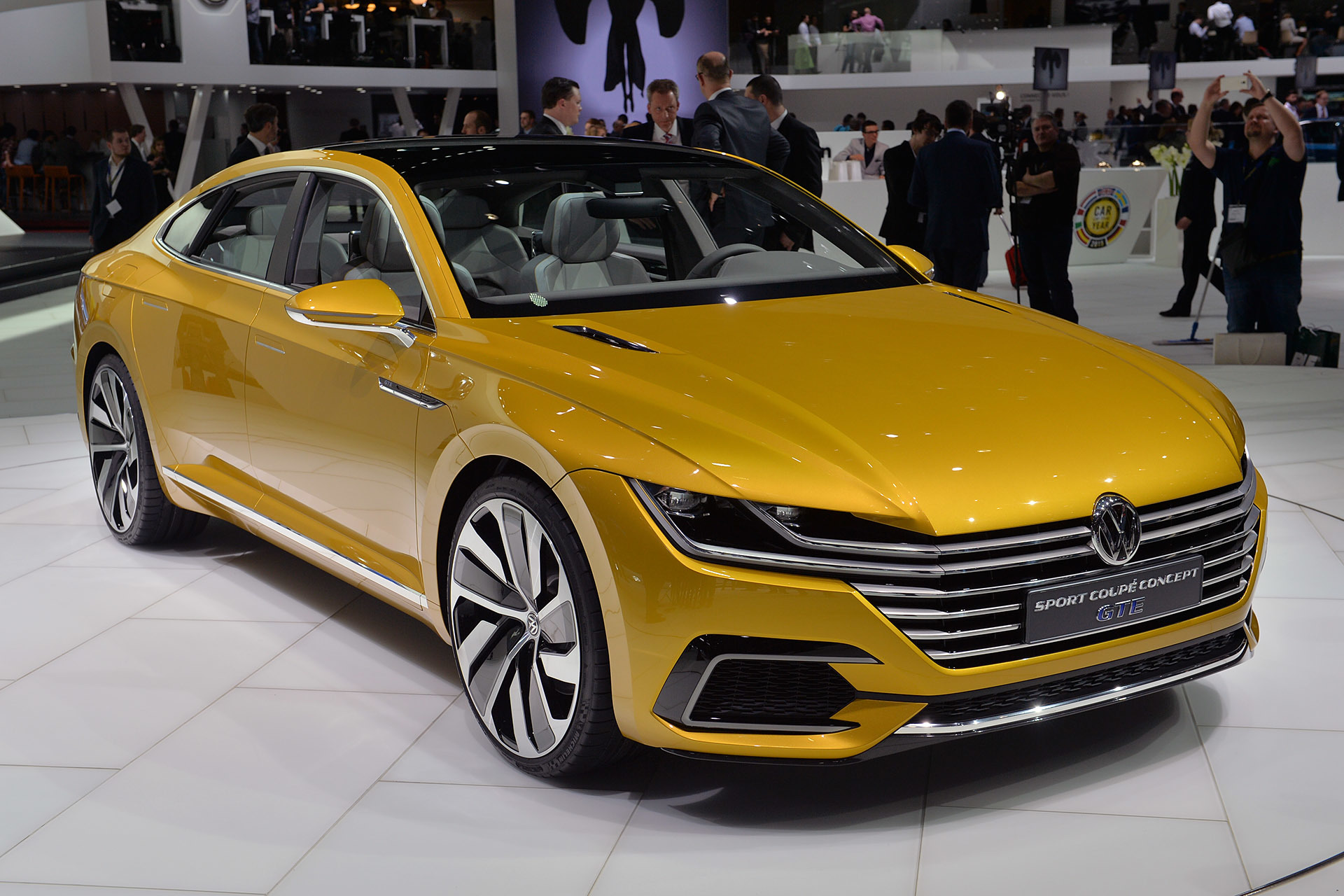 Volkswagen Sport Coupe Gte Concept Geneva 2015 Photo