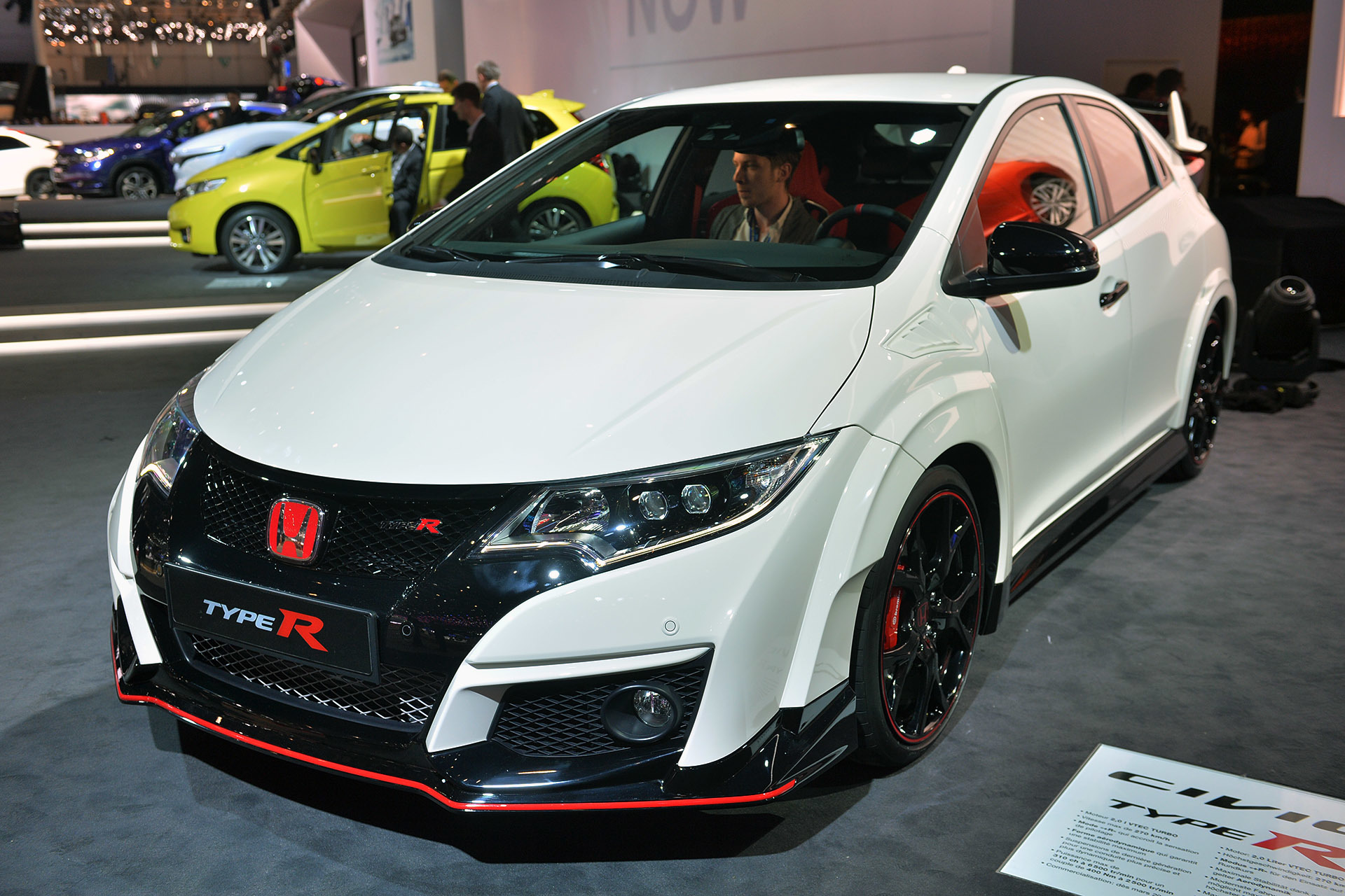 2016 honda civic type r geneva 2015 photo gallery autoblog. Black Bedroom Furniture Sets. Home Design Ideas