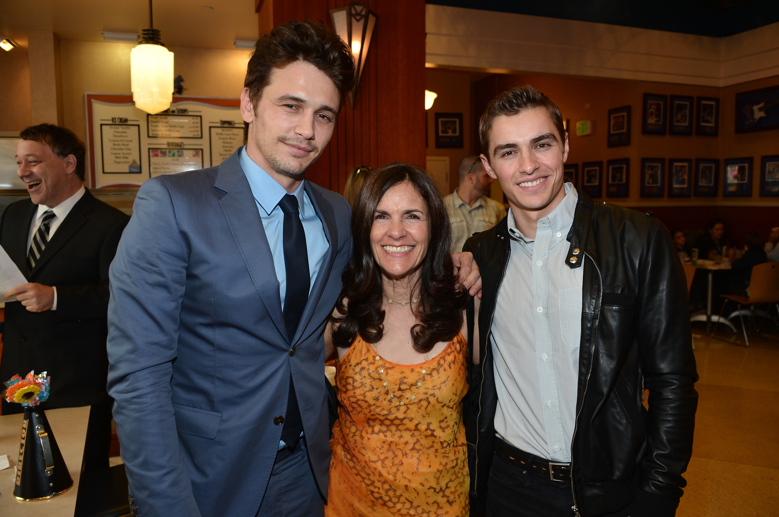 Photo of Dave Franco & his  Mother  Betsy Verne