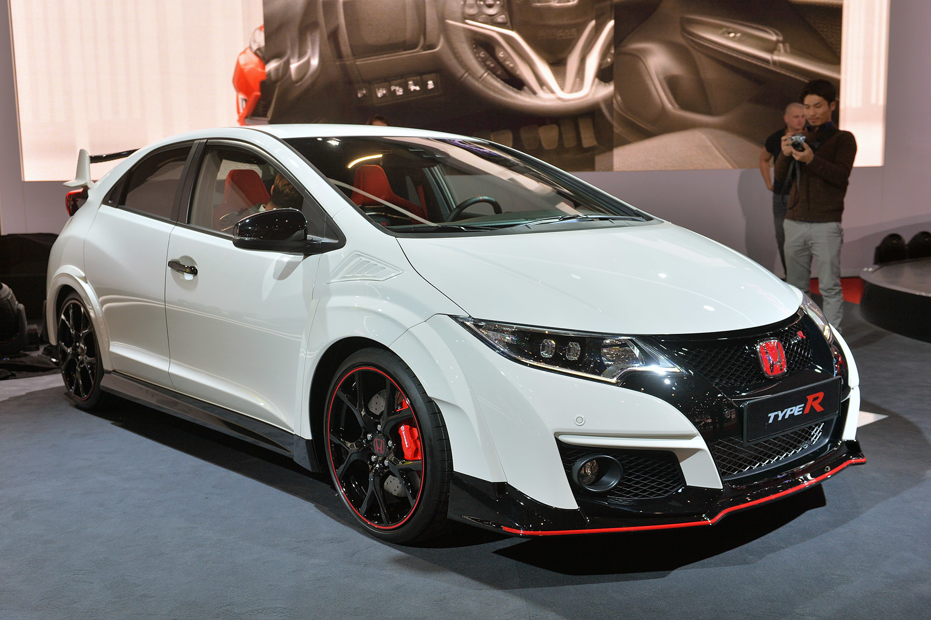 2016 honda civic type r geneva 2015 autoblog. Black Bedroom Furniture Sets. Home Design Ideas