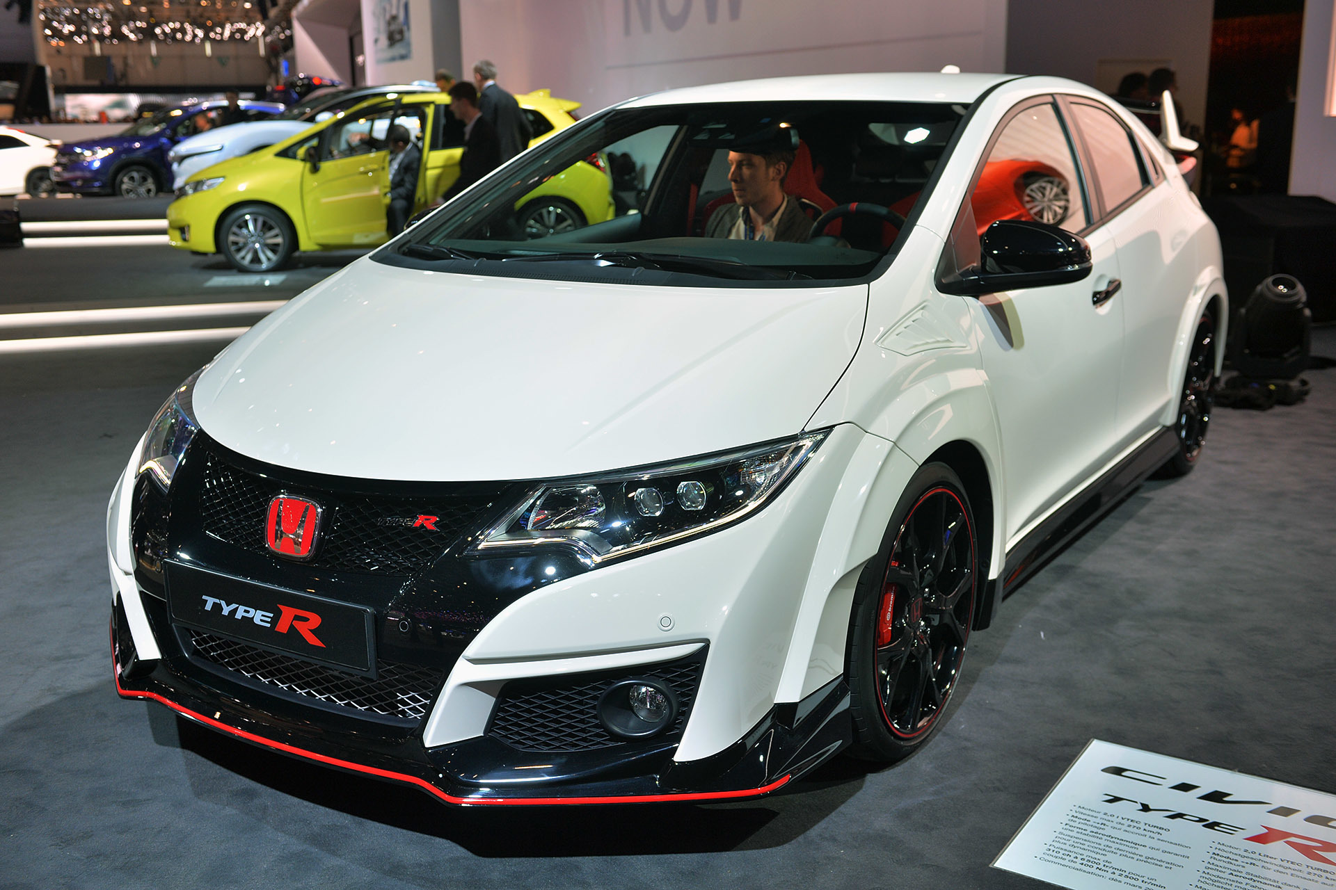 2016 honda civic type r geneva 2015 1. Black Bedroom Furniture Sets. Home Design Ideas