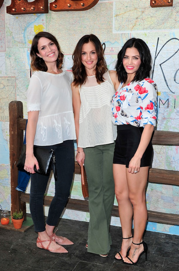 Mandy Moore, Minka Kelly and Jenna Dewan Taum