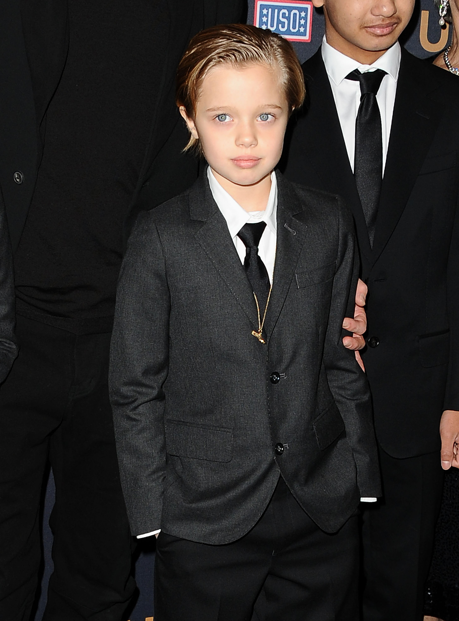 Now: Shiloh Jolie-Pitt