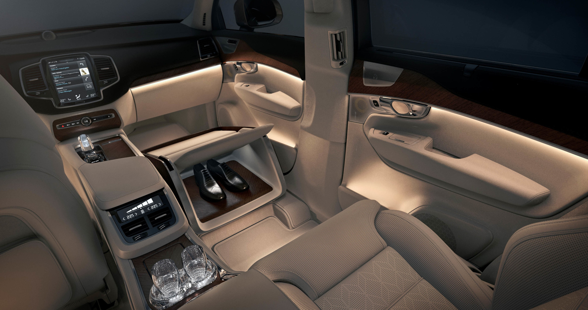 volvo xc90 excellence lounge console concept 0 autoblog. Black Bedroom Furniture Sets. Home Design Ideas