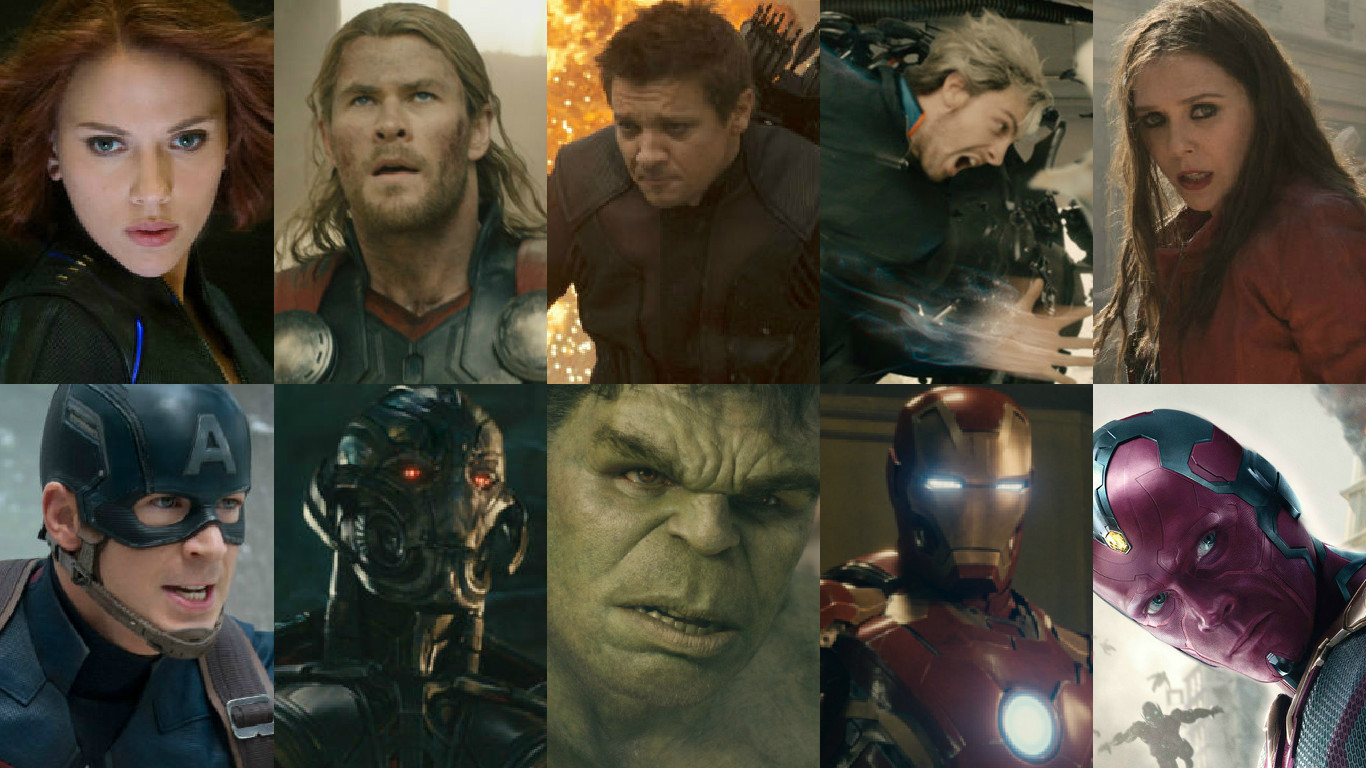 meet marvel characters