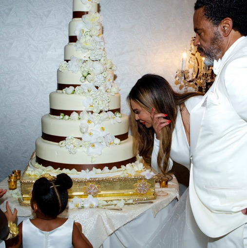 Beyonce Stuns While Blue Ivy Wears 5K Dress to Wedding