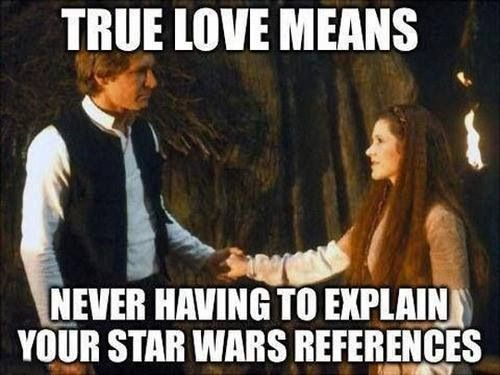 True Love Meme Funny : Perfectly hilarious star wars memes the moviefone