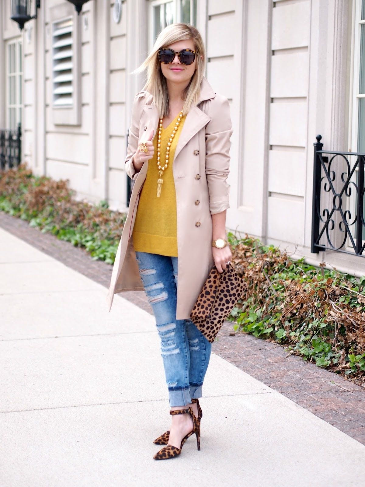 Street style tip of the day: Chambray tank