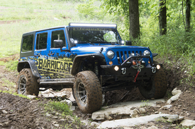 project trail force jeep wrangler goes to sema then to a. Black Bedroom Furniture Sets. Home Design Ideas