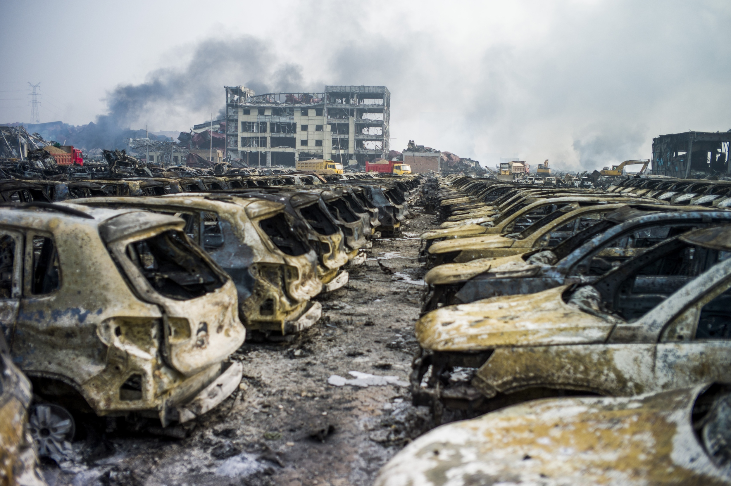 Tianjin China  city images : China blast zone evacuated over chemical contamination fears AOL.com