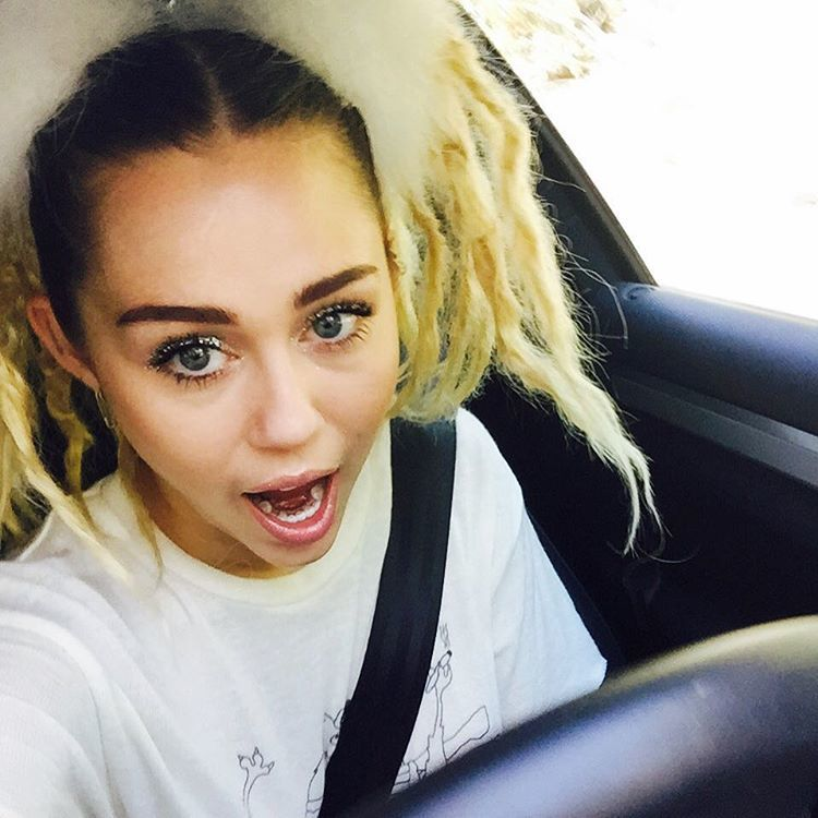 Phenomenal Miley Cyrus Just Showed Off A Pretty New Hairstyle On Insta Cambio Short Hairstyles For Black Women Fulllsitofus