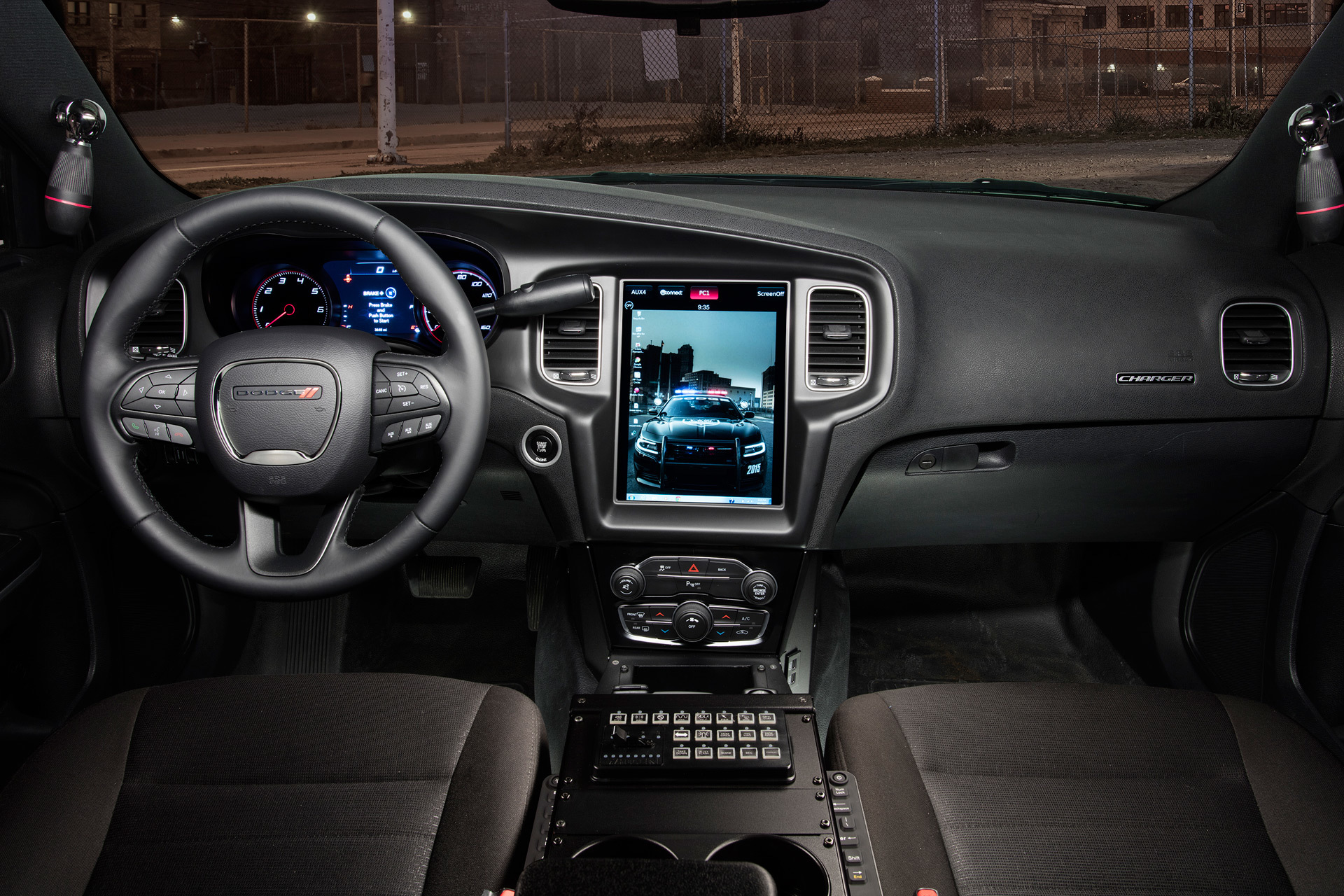 dodge charger pursuit takes tesla interior approach. Cars Review. Best American Auto & Cars Review