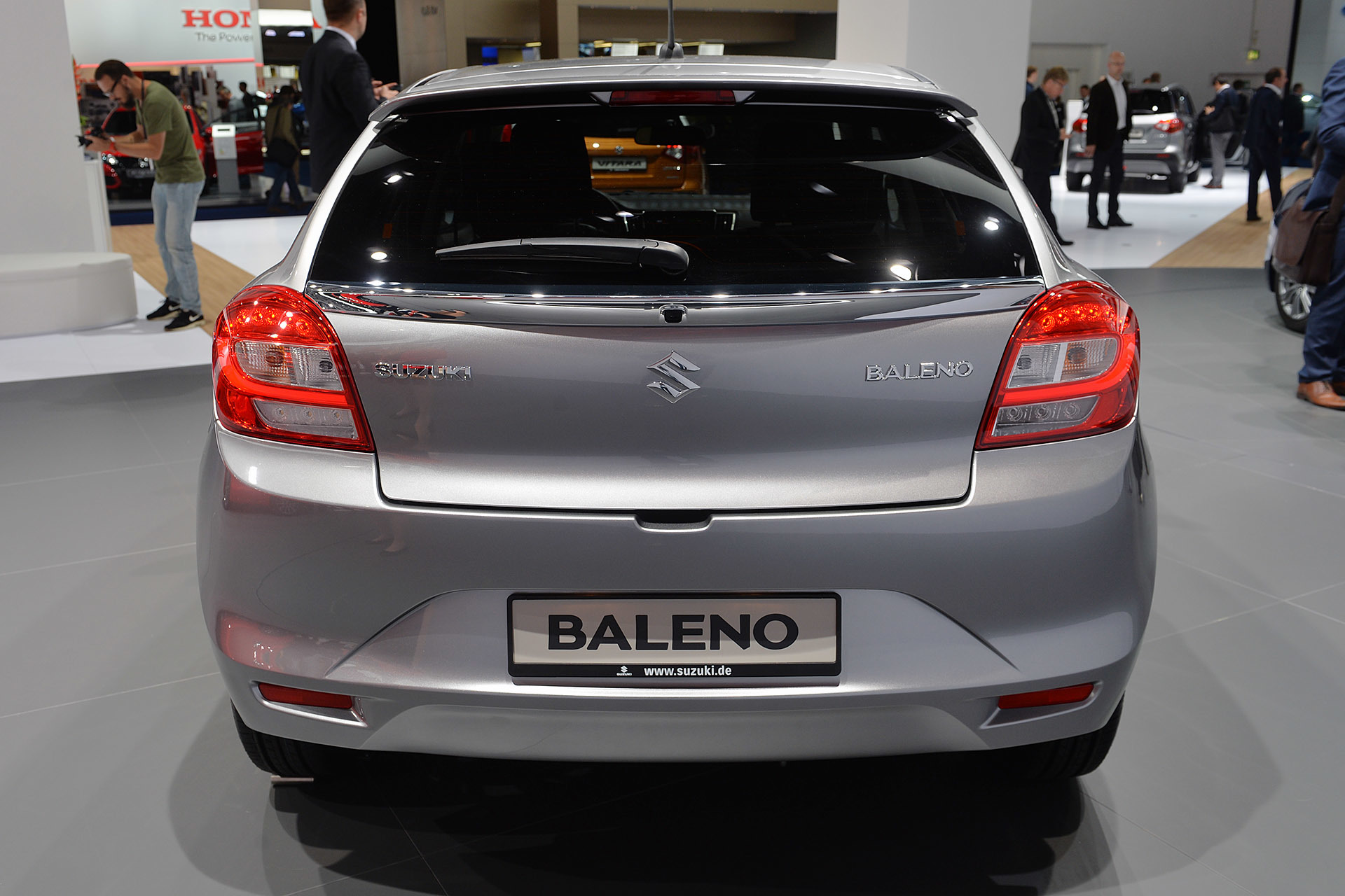 2016 Suzuki Baleno Frankfurt 2015 Photo Gallery