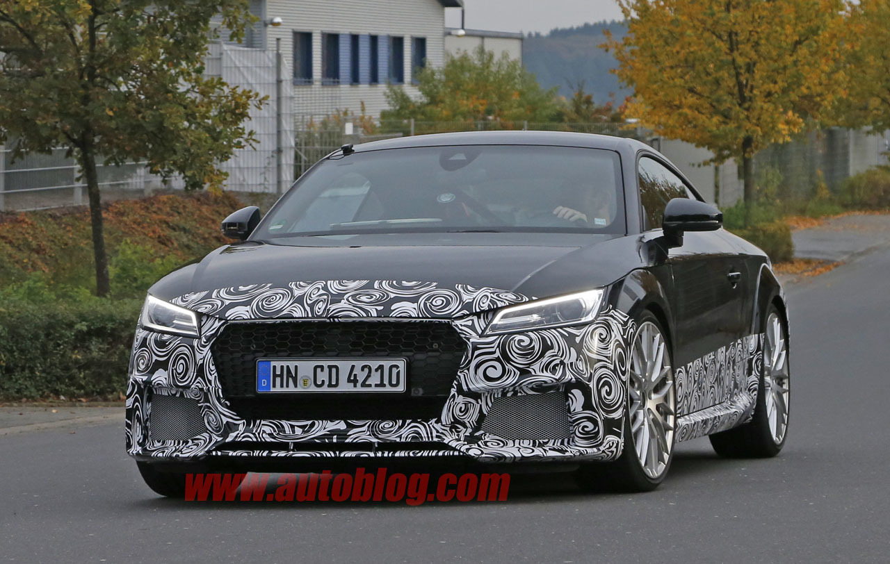 Thread mk3 audi tt rs spied retaining the turbo d five cyl but possibly dual clutch only