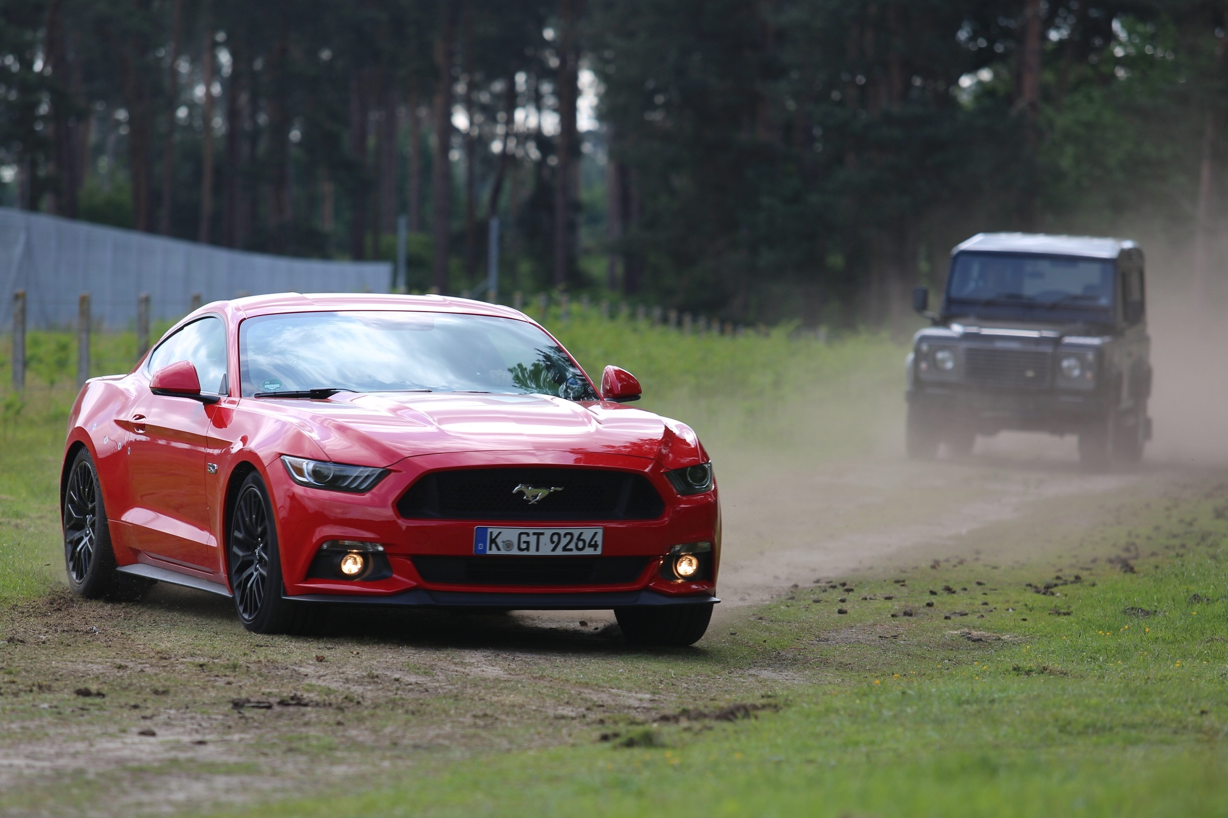 ford mustang in ben collins stunt driver