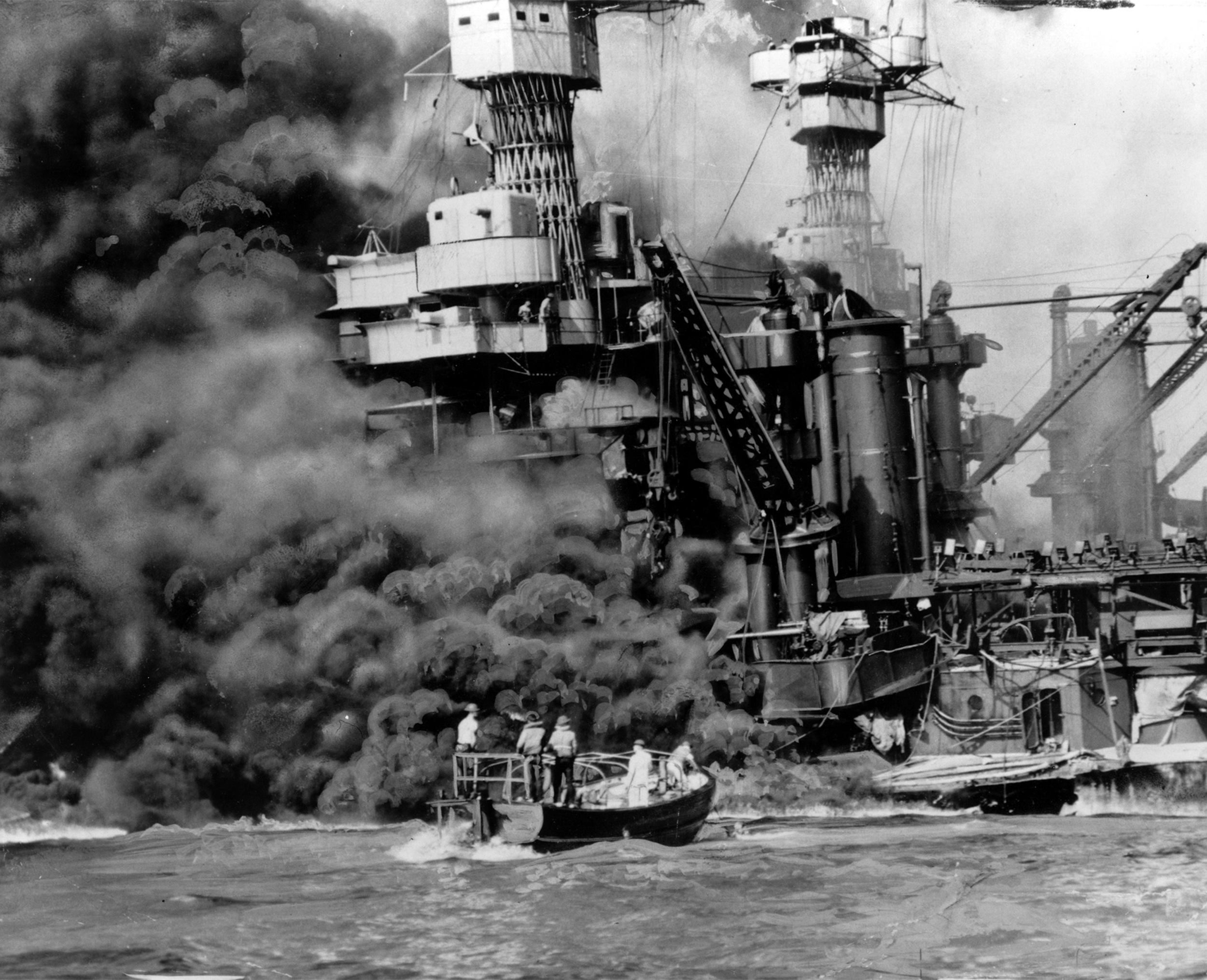 an analysis of the bombing of pearl harbor during the world war two After just two hours of bombing more than 2,400  all five of these midget subs were sunk during the attack on pearl harbor  it was time to join world war ii.
