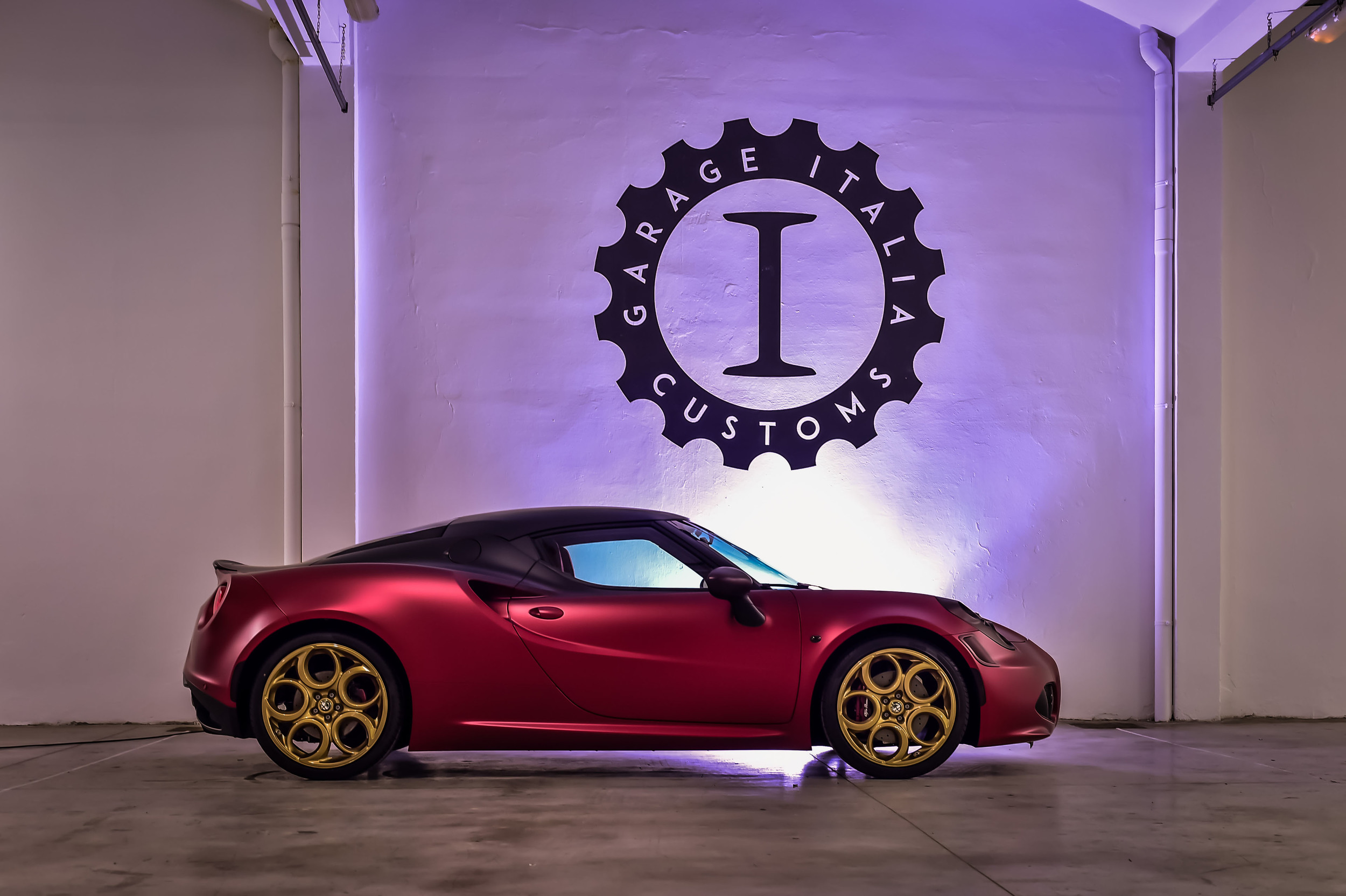 Alfa Romeo 4C La Furiosa by Garage Italia Customs Gallery