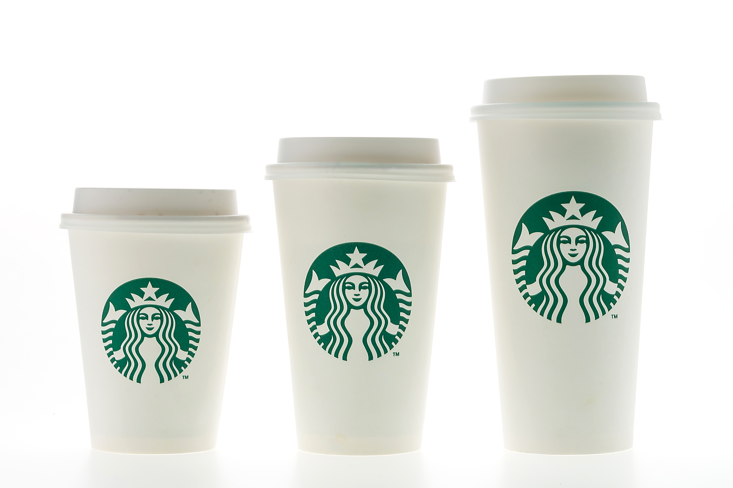 Coffee Cup Sizes