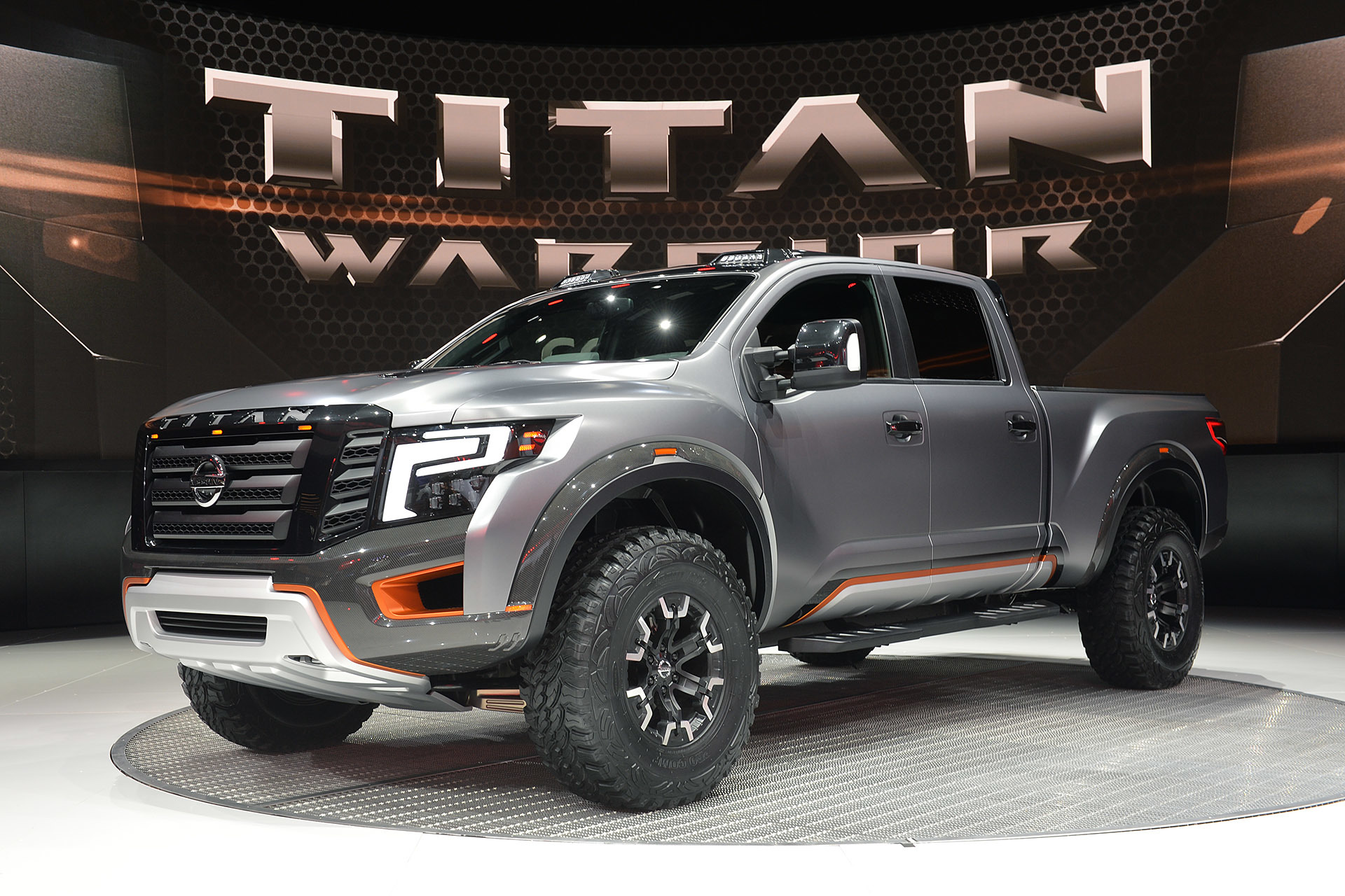 nissan titan warrior concept 2016 dark cars wallpapers. Black Bedroom Furniture Sets. Home Design Ideas