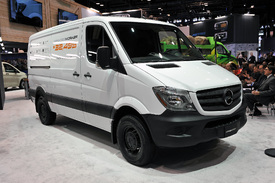 Mercedes Benz Could Have Electric Sprinter Van By 2018