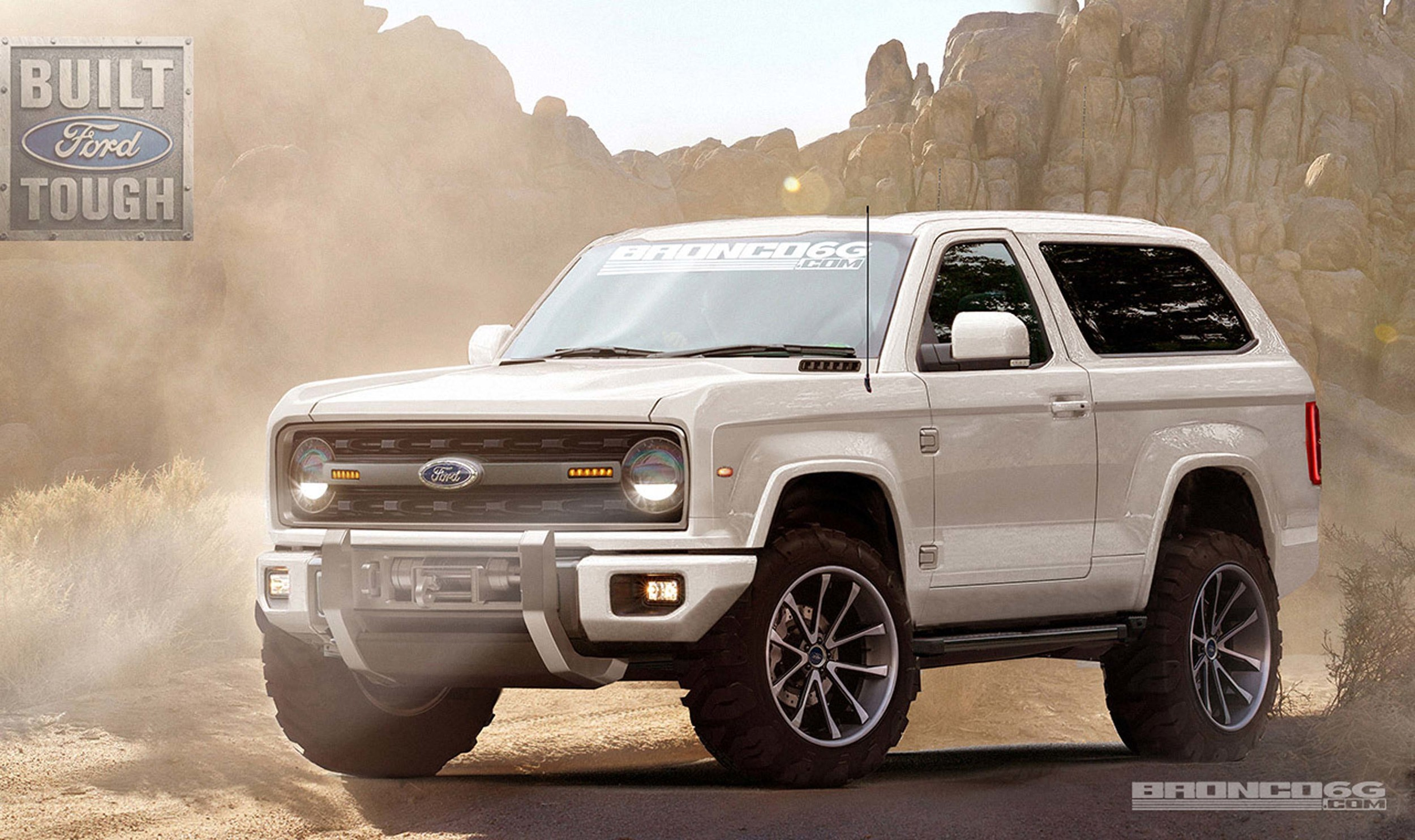 2016 Ford Bronco >> 2020 Ford Bronco Renderings Photo Gallery Autoblog