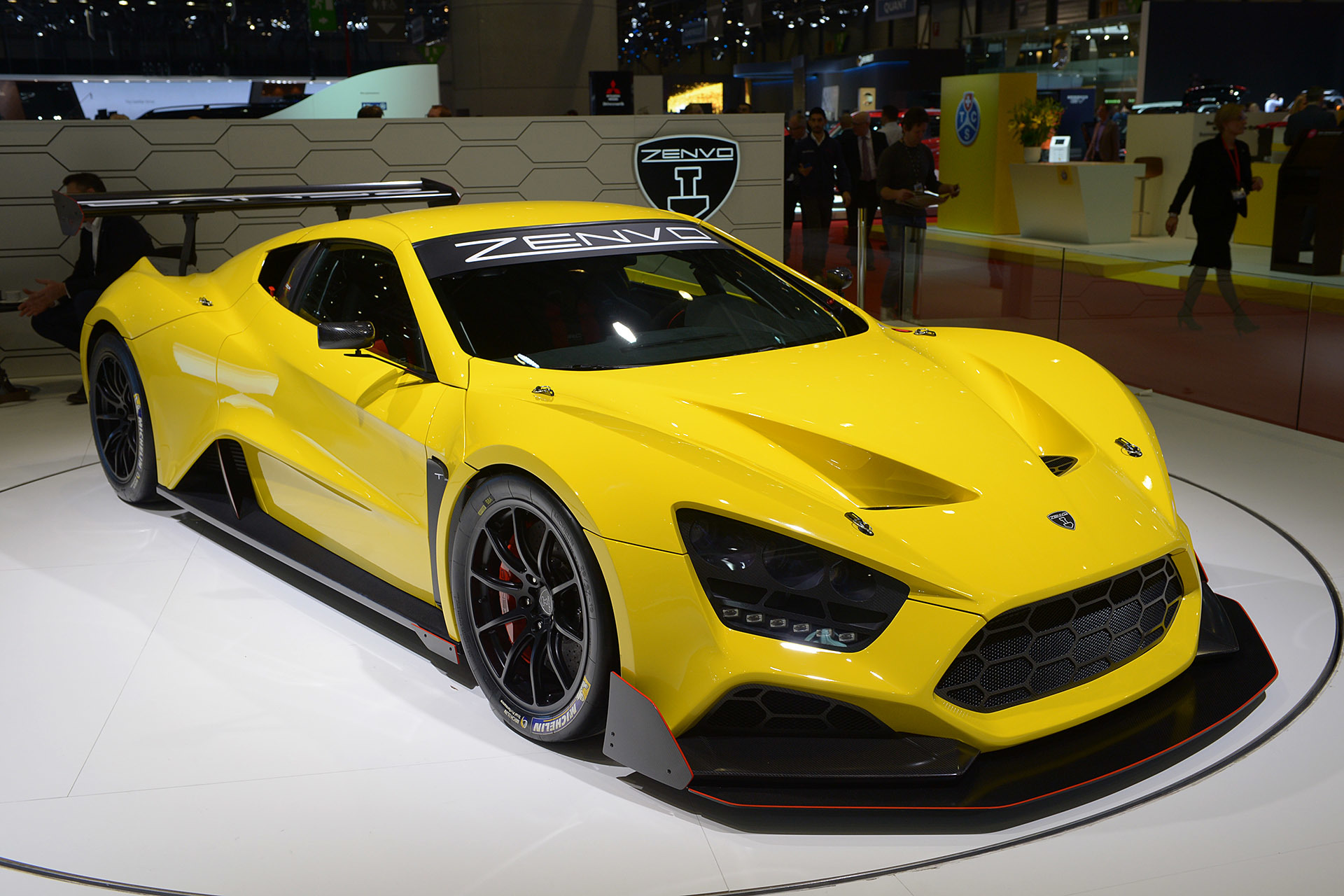 Zenvo TS1 2016 - Dark-Cars Wallpapers