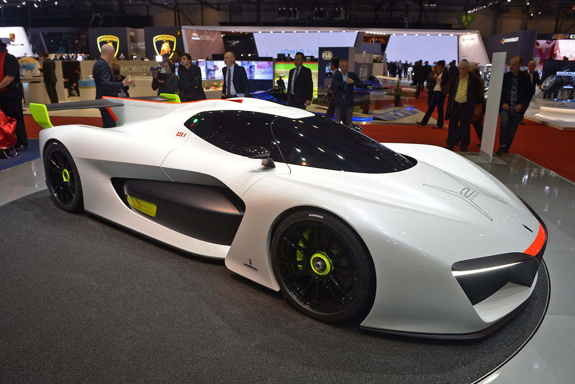 Pininfarina H2 Speed 2016 Dark Cars Wallpapers
