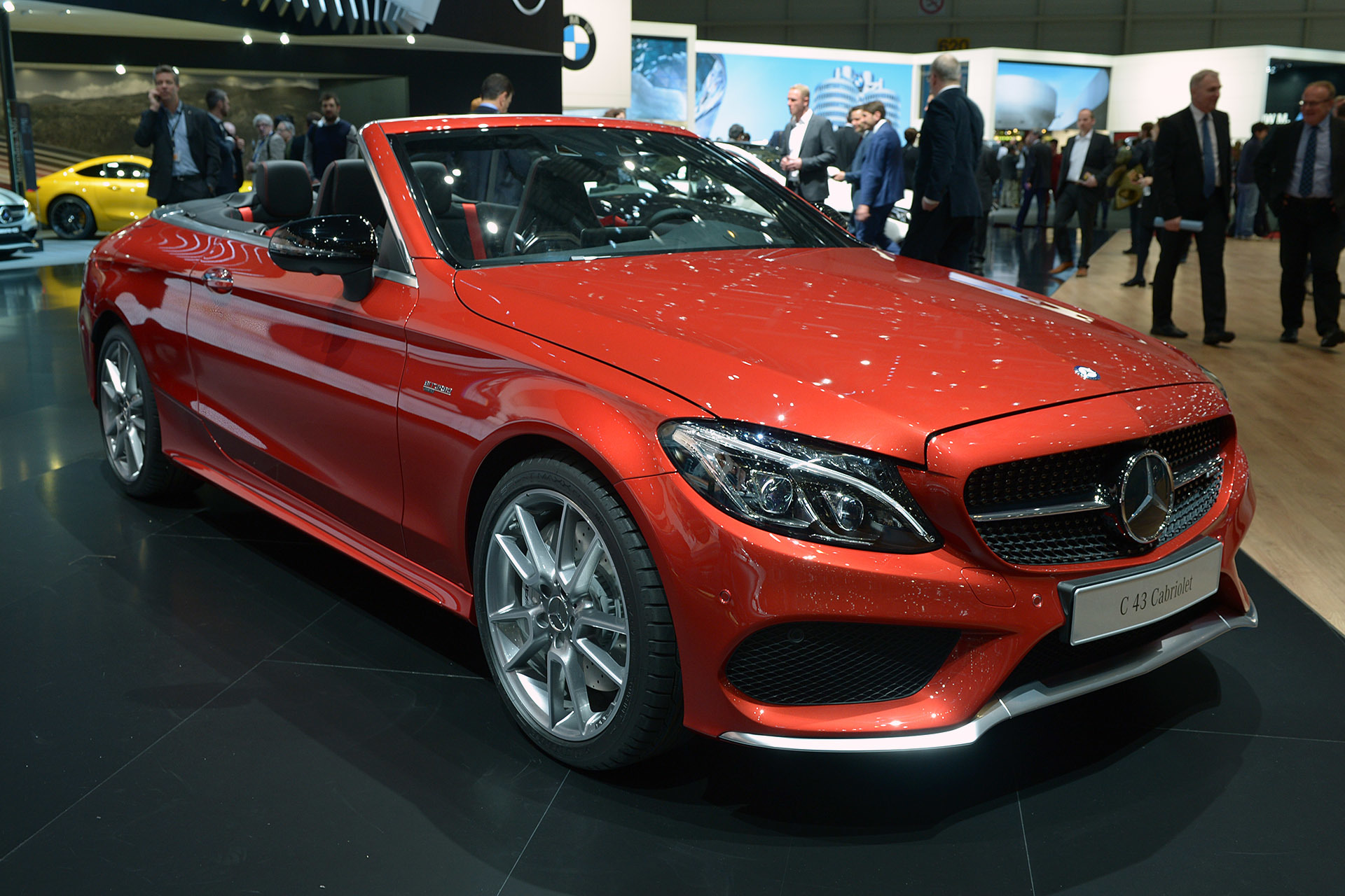 mercedes c43 amg cabriolet 2016 dark cars wallpapers. Black Bedroom Furniture Sets. Home Design Ideas