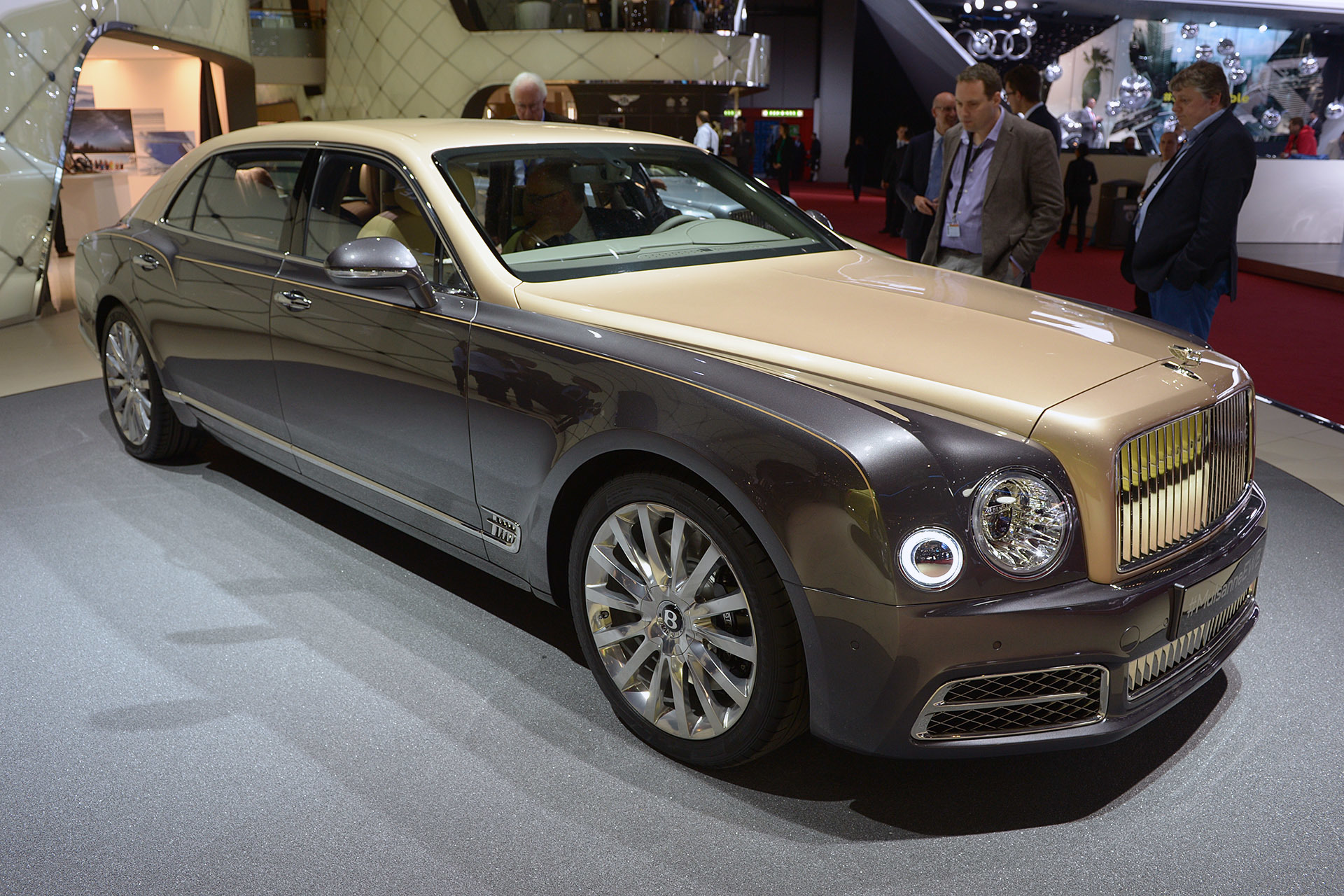how in review mph yourself at the is bla much you speed google mulsanne a can bentley