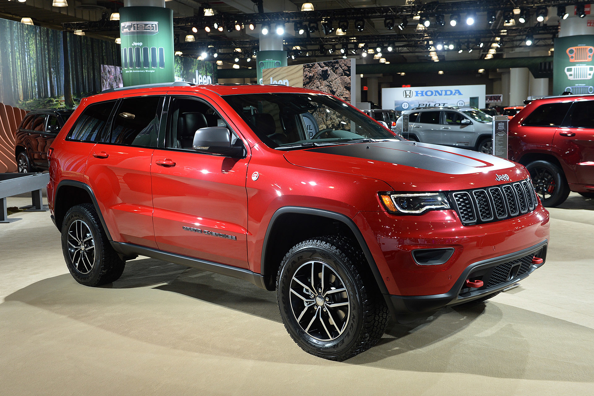 jeep grand cherokee trailhawk 2016 dark cars wallpapers. Black Bedroom Furniture Sets. Home Design Ideas