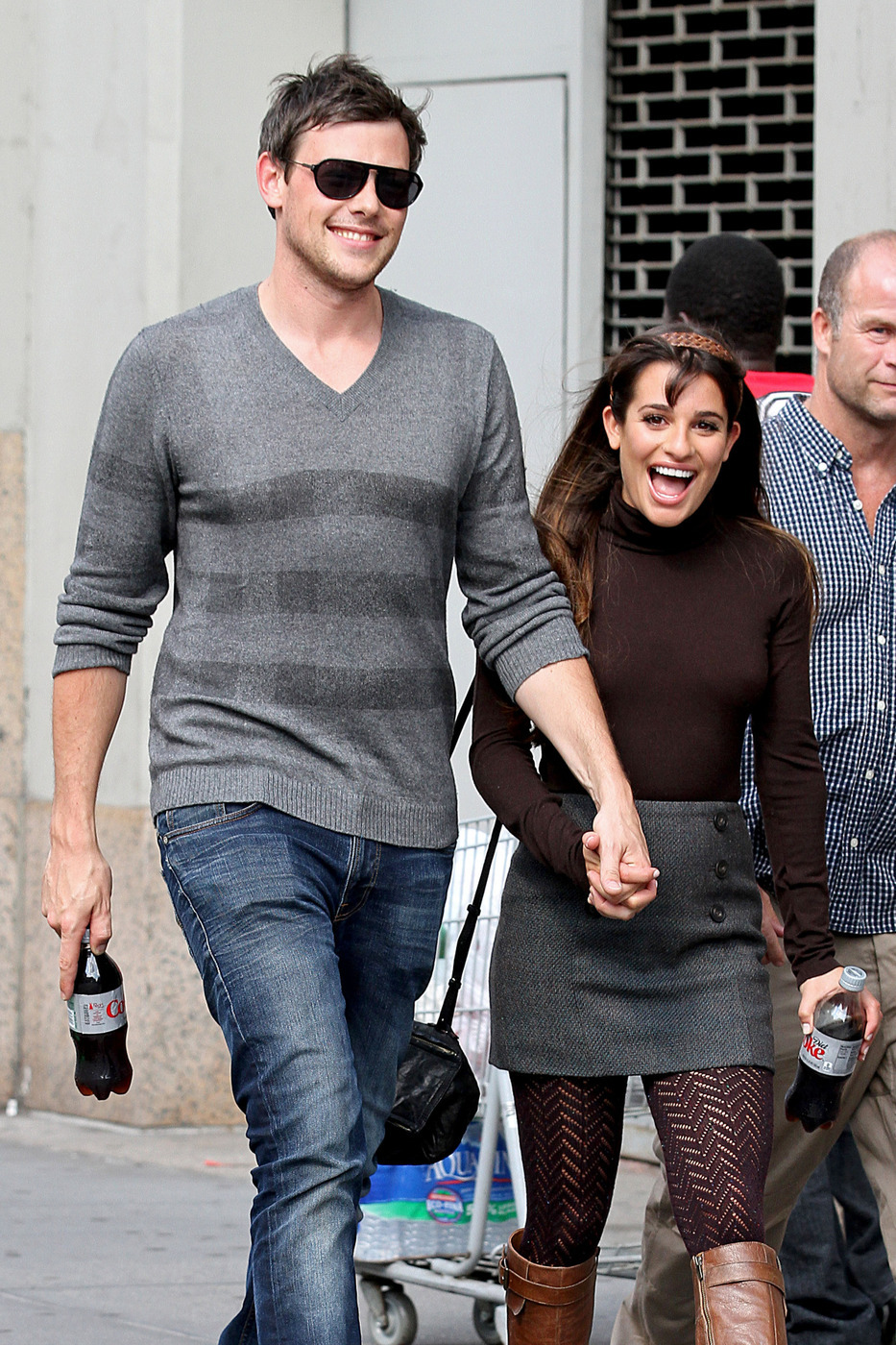 Are cory and lea dating